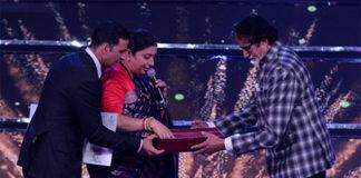 Amitabh Bachchan honoured at IFFI