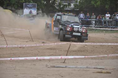 Car Jeep Rally