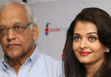 Aishwaya and her father