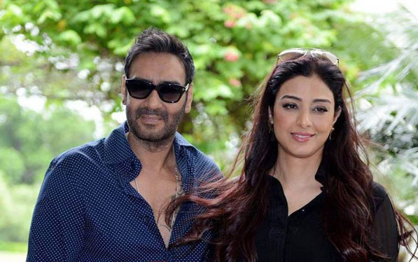 Tabu talks about Ajay Devgan