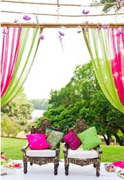 Wedding themes and colours